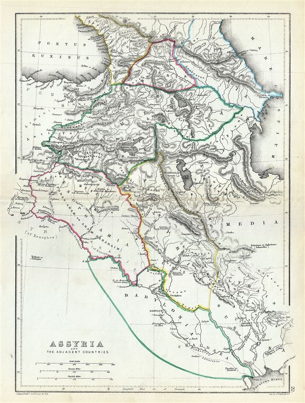 Assyria and the Adjacent Countries. - Main View