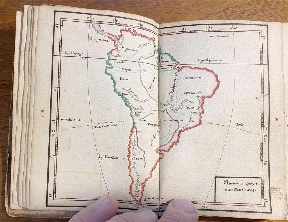 [Untitled Manuscript Pocket Atlas] - Alternate View 2