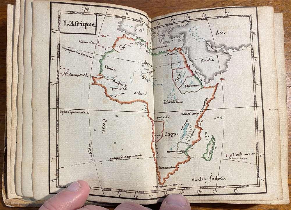 [Untitled Manuscript Pocket Atlas] - Alternate View 3