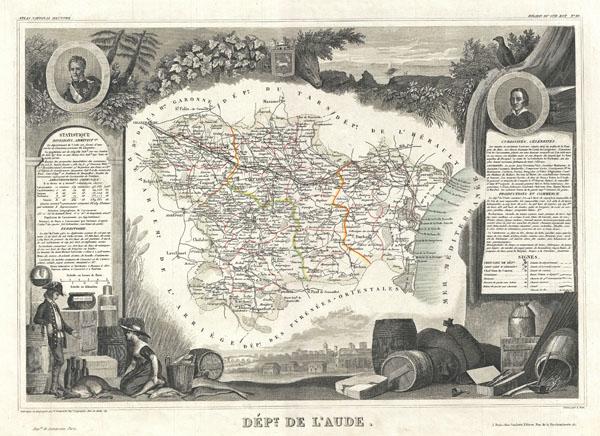 Dept. de L'Aude.