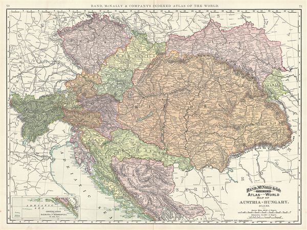 Map of Austria-Hungary.