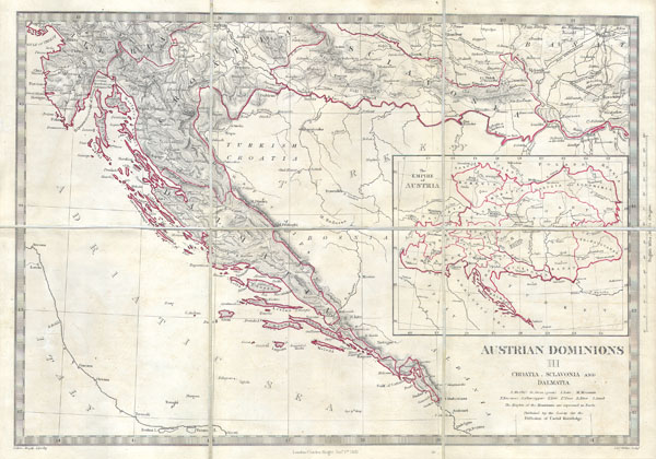 Austrian Dominions III: Croatia, Sclavonia and Dalmatia. - Main View