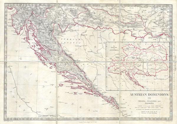 Austrian Dominions III: Croatia, Sclavonia and Dalmatia.