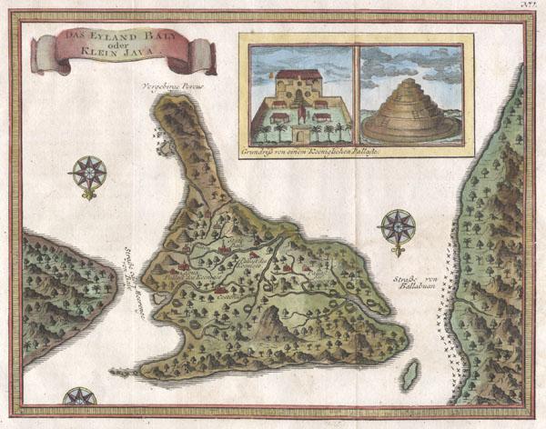 Das Eyland Baly oder Klein Java.