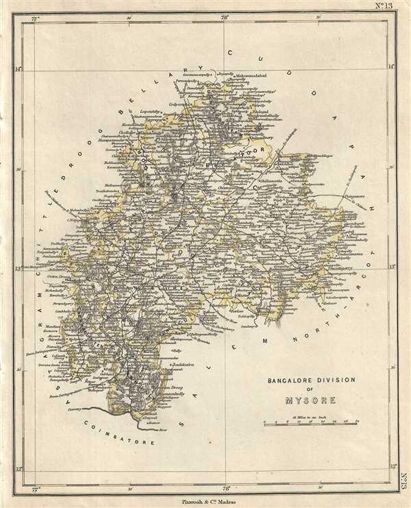 Bangalore Division of Mysore.