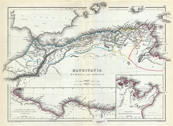 Mauritania Numidia and Africa.