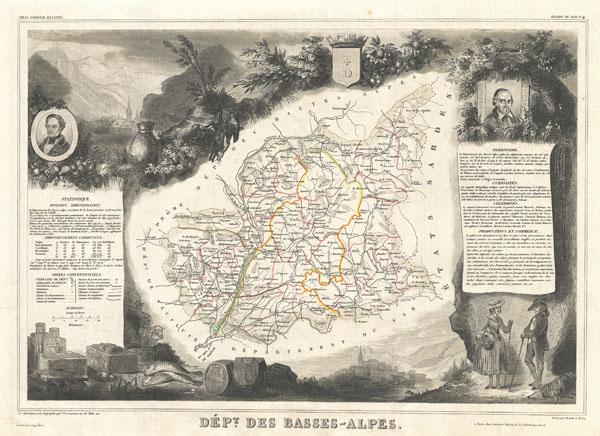 Dept. des Basse-Alpes.
