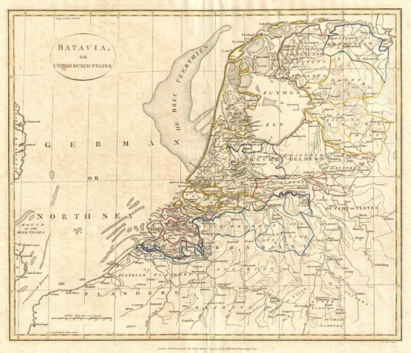 Batavia or United Dutch States.