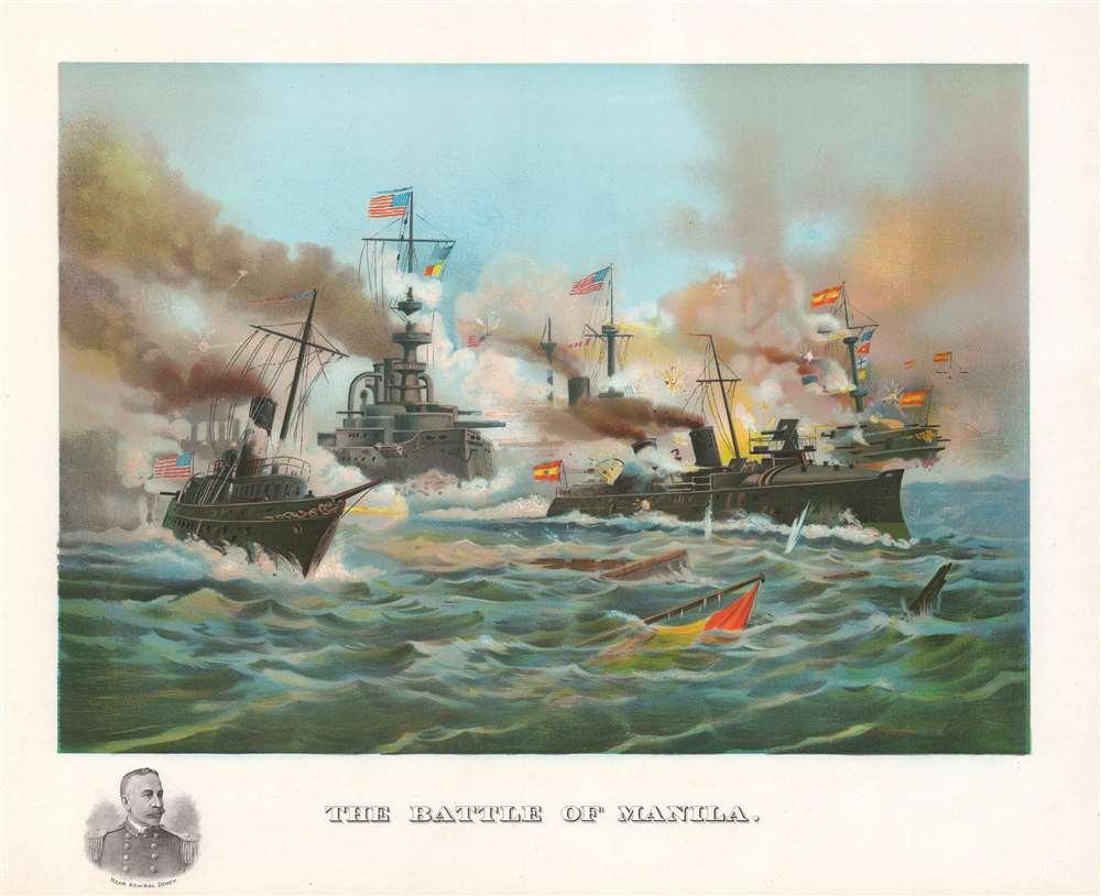 The Battle of Manila. - Main View