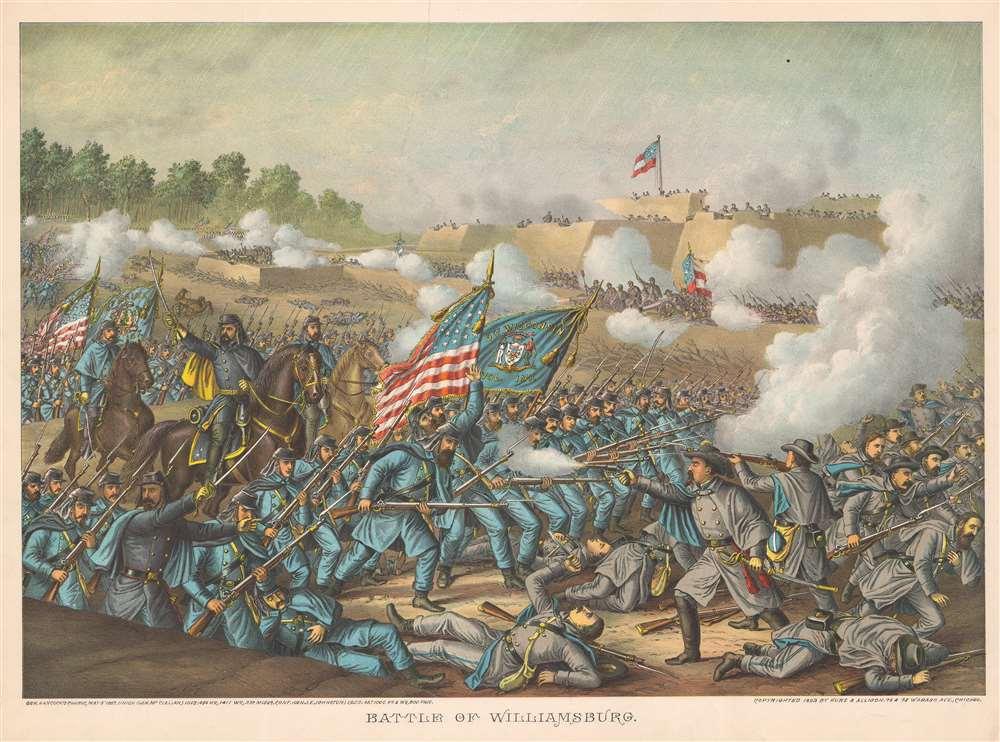 Battle of Williamsburg. - Main View
