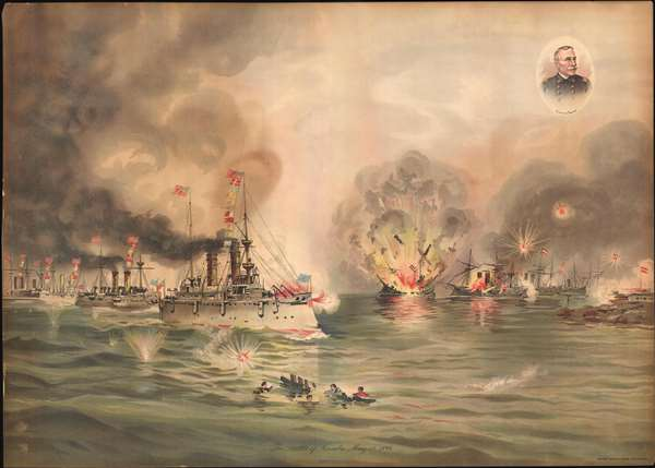 The Battle of Manila, May 1, 1898.