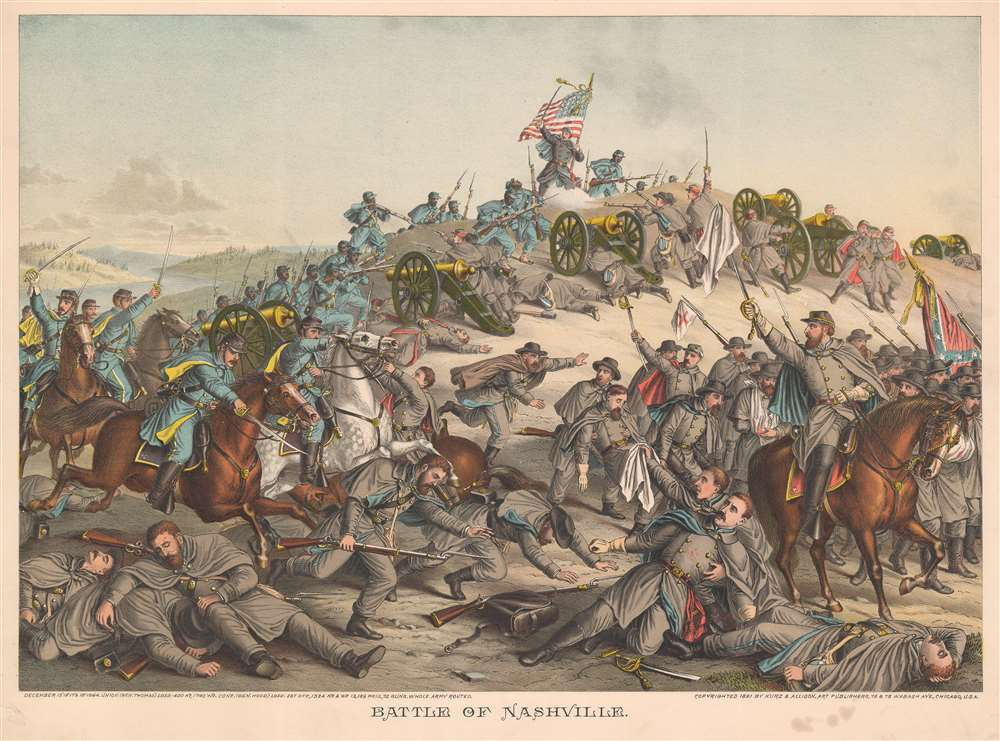 Battle of Nashville. - Main View