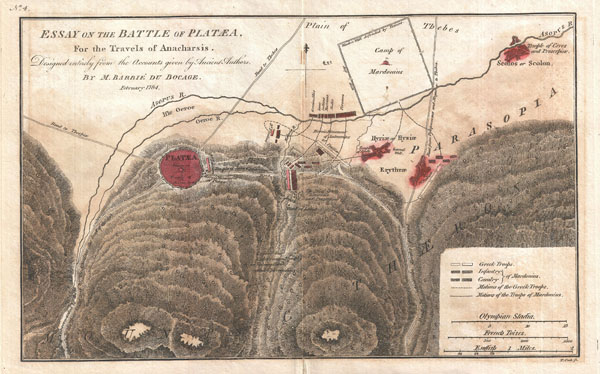 Essay on the Battle of Plataea for the Travels of Anacharsis. - Main View