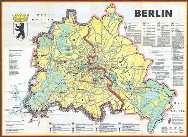 Berlin Map Of Germany.Berlin Geographicus Rare Antique Maps