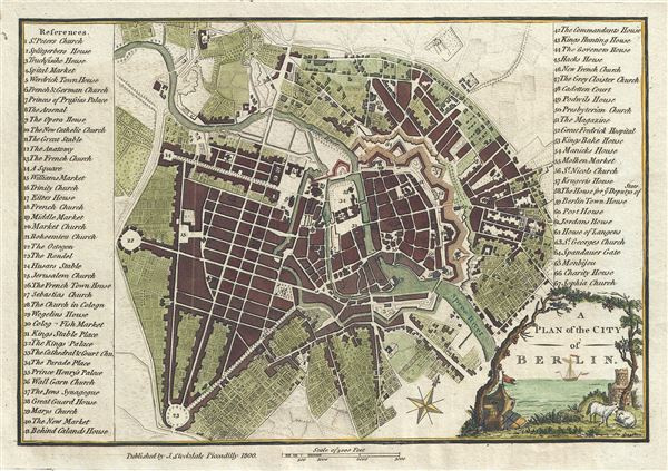 A Plan of the City of Berlin.