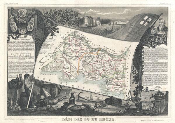 Dept. Des Bes. Du Rhone. - Main View