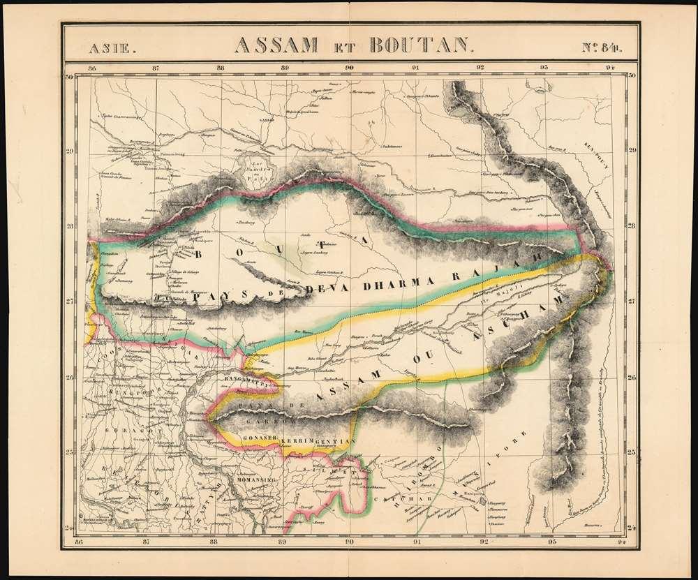 Assam et. Boutan.