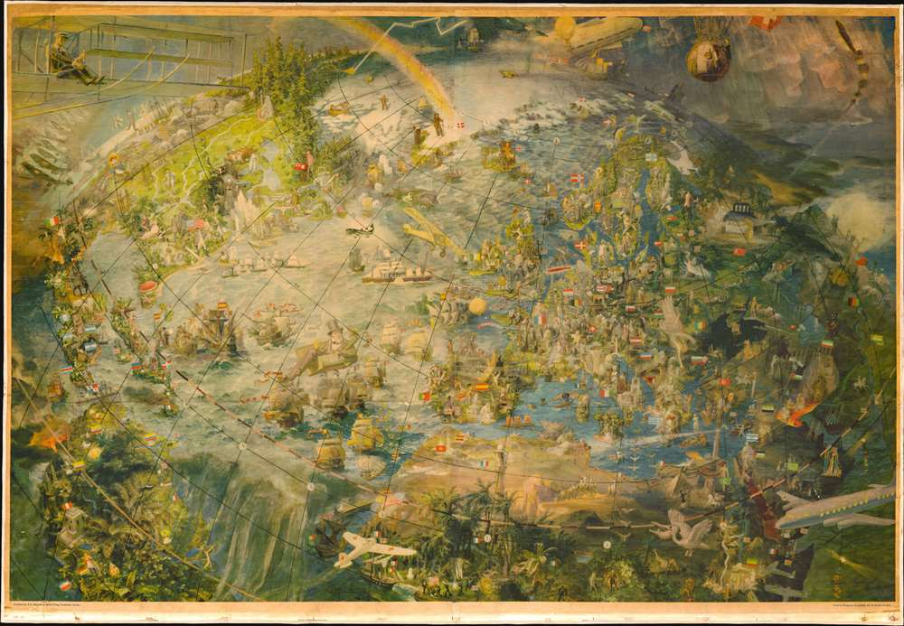 [Oliver Neerlands Bildkarta]. - Main View