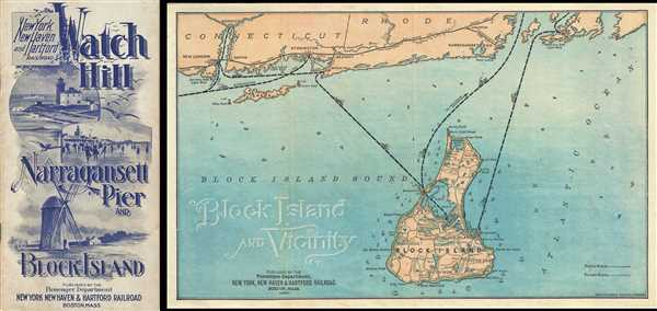 Block Island and Vicinity.