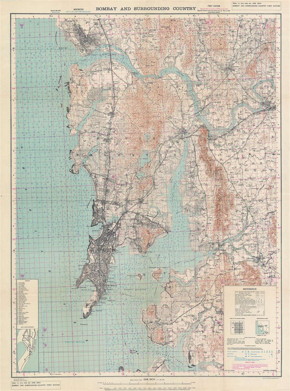 Bombay and Surrounding Country. - Main View