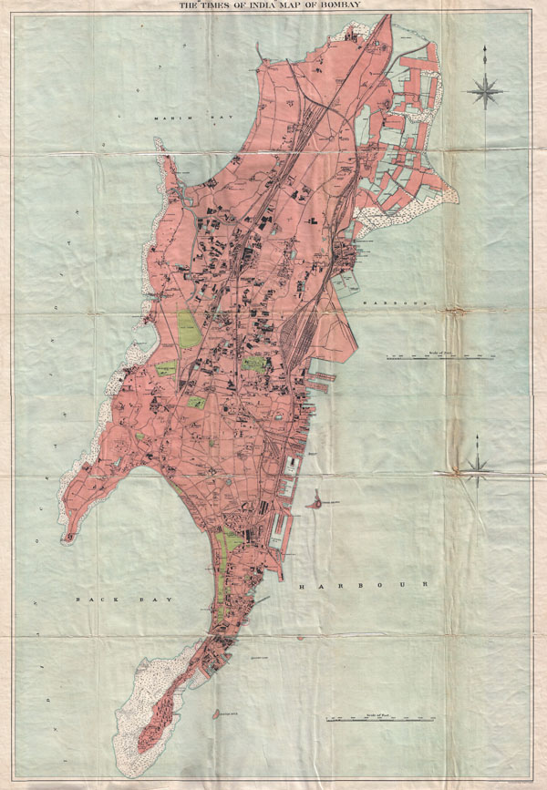 The 'Times of India' Map of  Bombay
