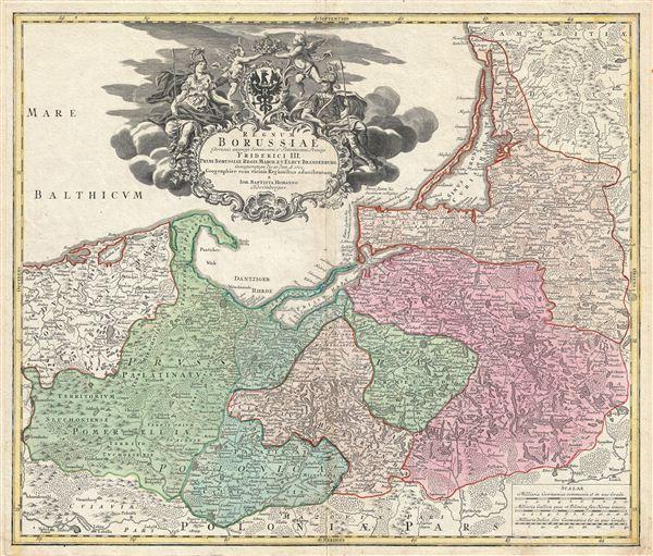 Regnum Borussiae Gloriosis auspicys Serenissimi et Potentissimi Prin Friderich III.