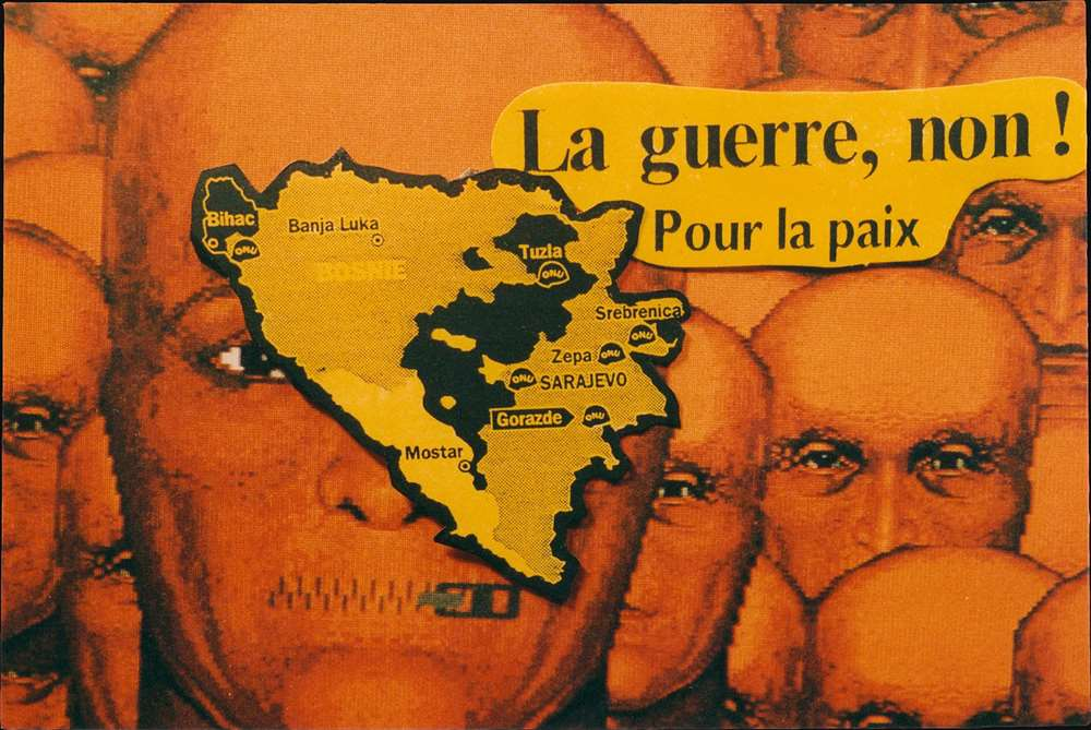 La guerre, non! Pour la paix. - Alternate View 2