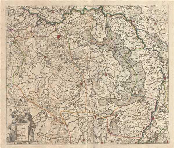 Brabantiae pars Orientalis.