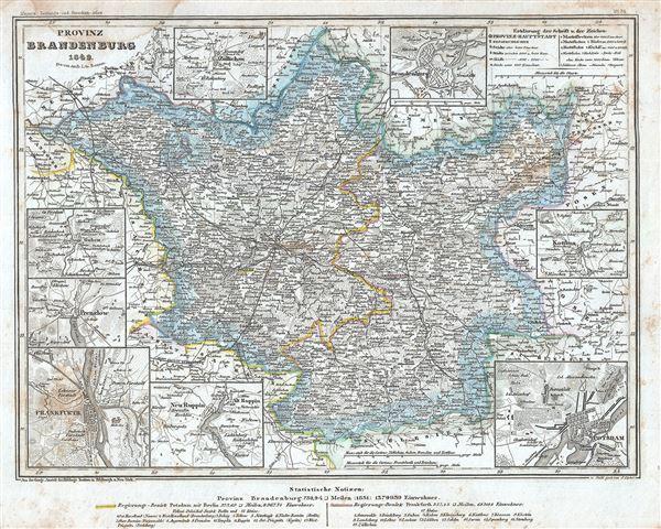 Provinz Brandenburg.
