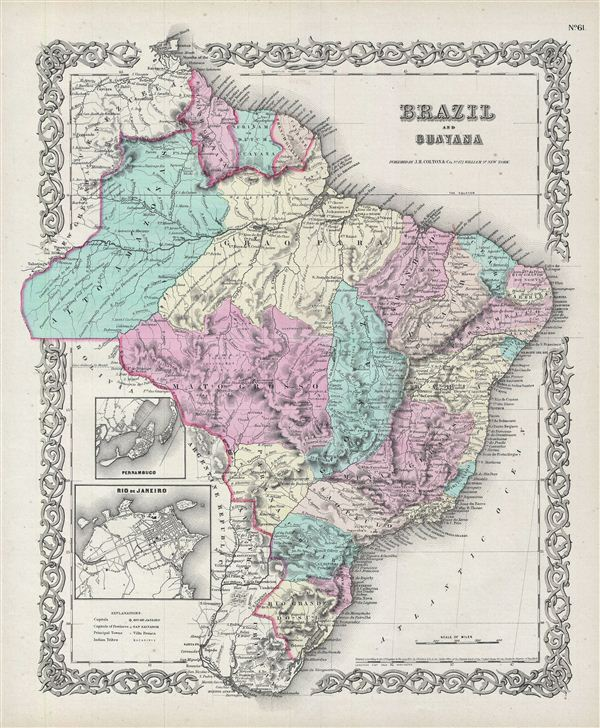 Brazil and Guayana.