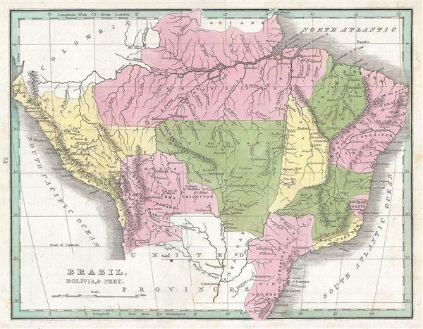 Brazil, Bolivia and Peru.