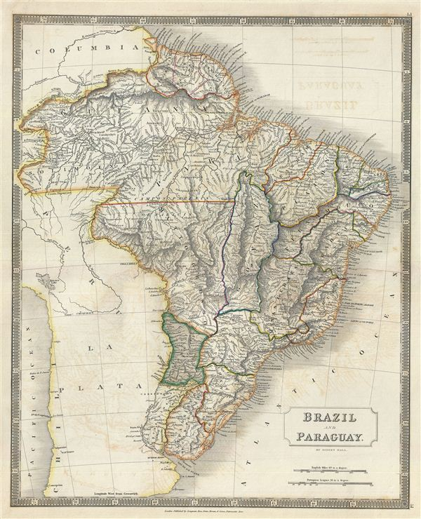 Brazil and Paraguay. - Main View