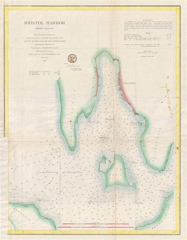 Bristol Harbor Rhode Island.