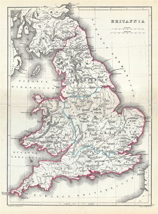 Britannia Geographicus Rare Antique Maps