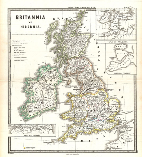 Britannia et Hibernia. - Main View