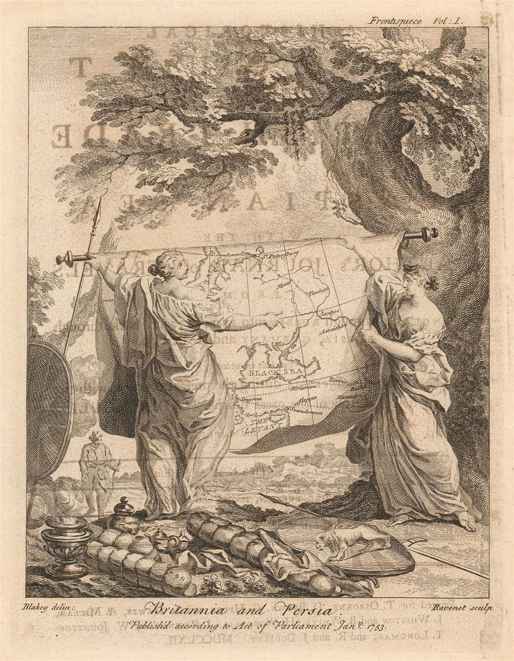 Britannia and Persia. - Main View