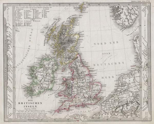 Die Britischen Inseln.