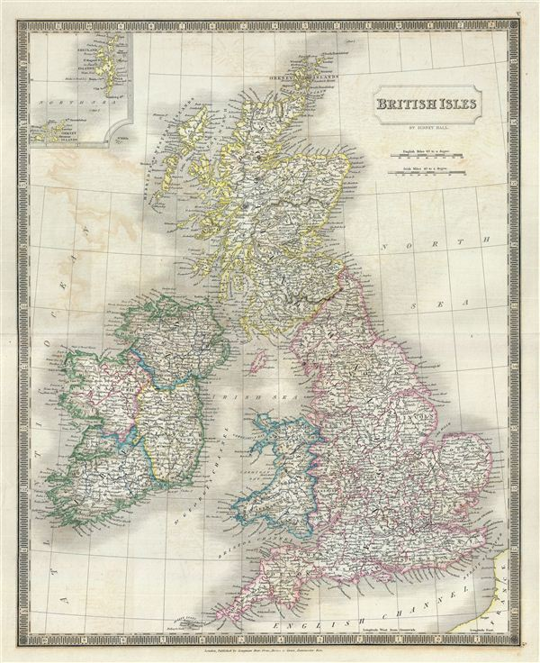 British Isles. - Main View