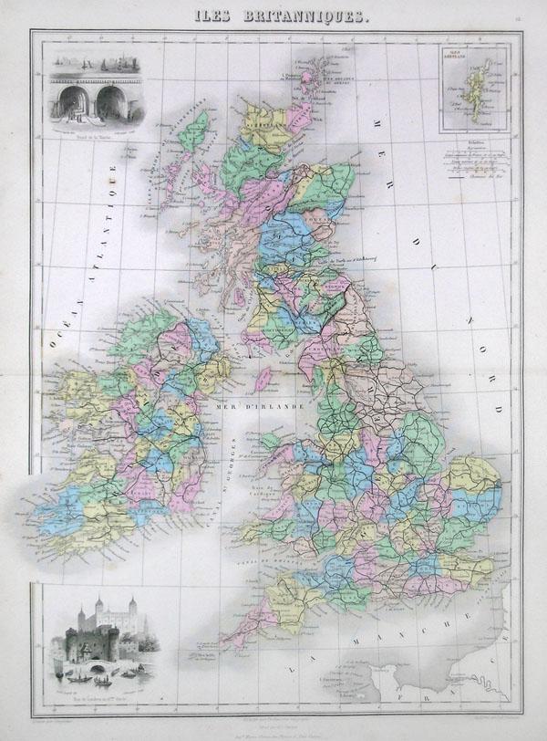 Iles Britanniques. - Main View