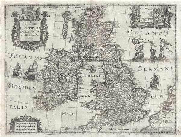 Novissima descriptio Angliae Scotiae et Hiberniae.