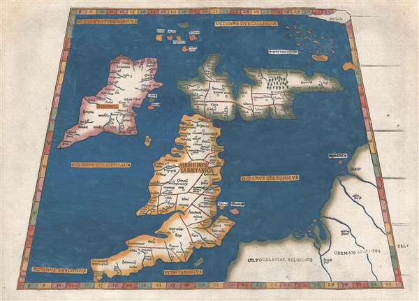 [Albion Insula Britanica] / [Tabiula Prima Europae].