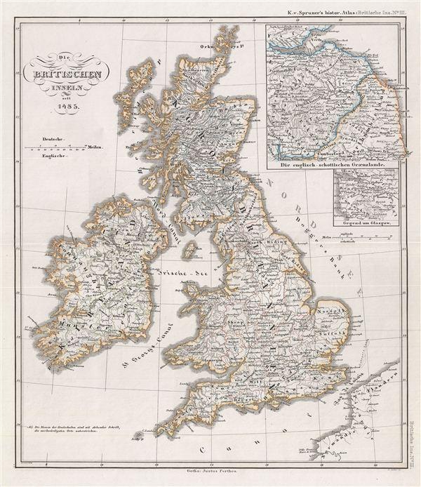 Die Britischen Inseln seit 1485.