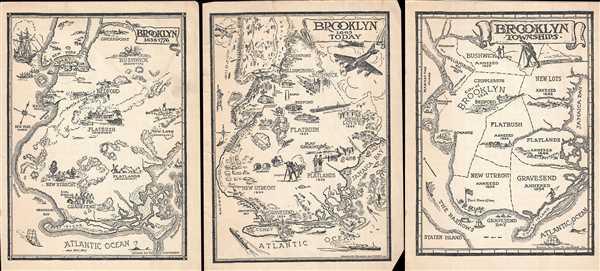 Brooklyn 1636 - 1776 / Brooklyn 1865 - Today / Brooklyn Townships
