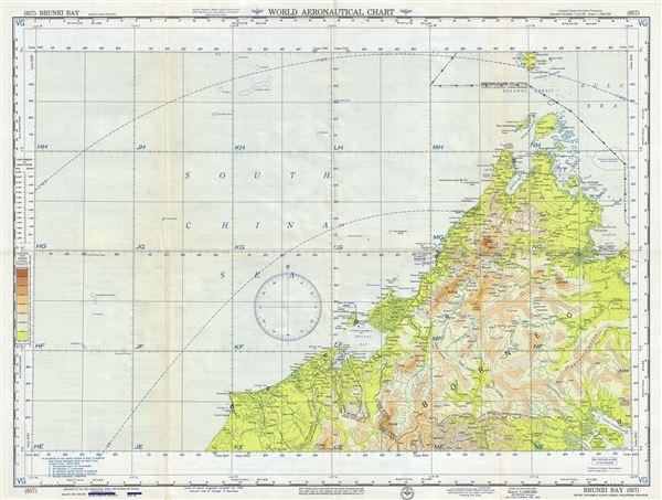 Brunei Bay Brunei-Indonesia-North Borneo-Philippines-Sarawak.