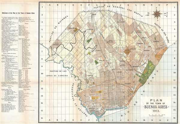 Plan of the Town of Buenos Aires.: Geographicus Rare Antique Maps