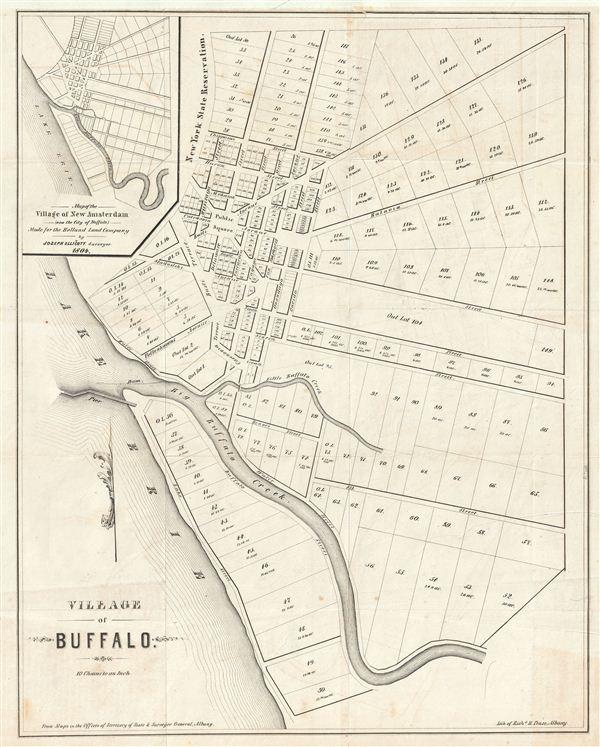Village of Buffalo. - Main View