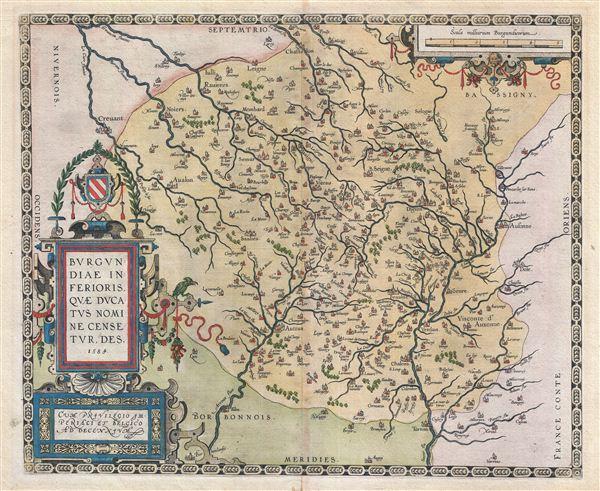 Burgundiae Inferioris Quae Ducatus Nomine Censetur, Des.