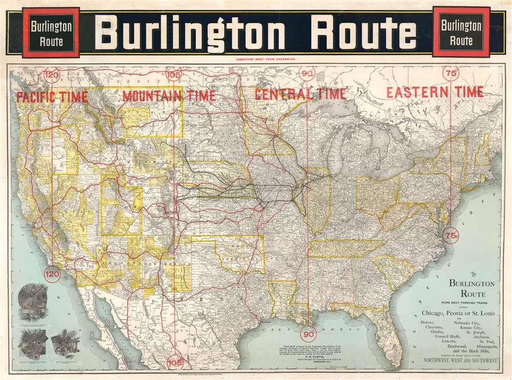 Burlington Route. - Main View