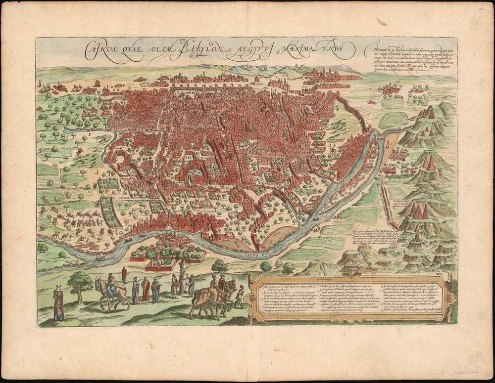 Cairus, quae olim Babylon; Aegypti Maxima Urbs. - Main View