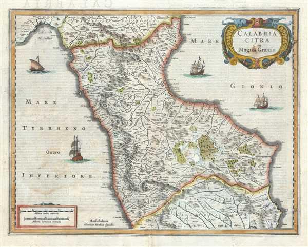 Calabria citra olim Magna Graecia.